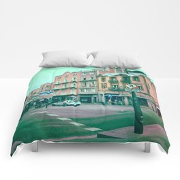 Facing Matter Comforters