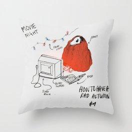 AUTUMN #1 - colour Throw Pillow