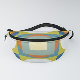 Abstract Retro Colored Shapes Fanny Pack