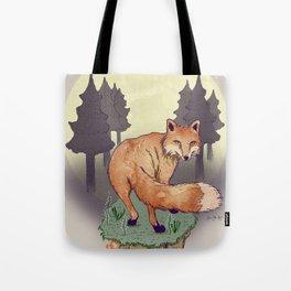 Snoqualm Fox Tote Bag