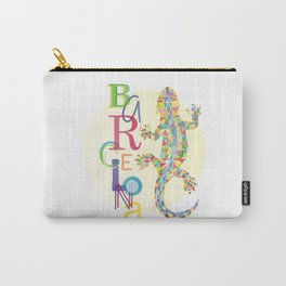 Barcelona City Lizard Carry-All Pouch