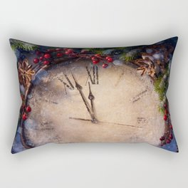 Frozen time winter wonderland Rectangular Pillow