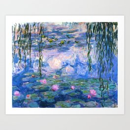 Water Lilies Monet Art Print