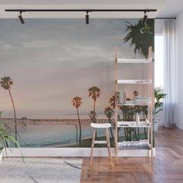 palm trees sunset vi / san clemente, california Wall Mural