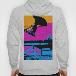Tail Grabbing High Flying Scooter Hoody