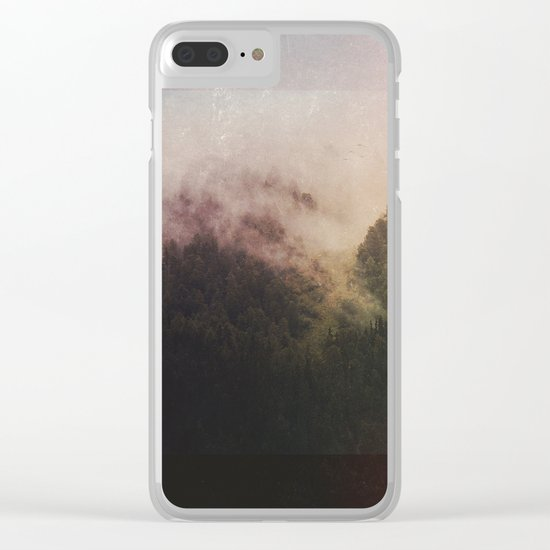 Fractions A67 Clear iPhone Case