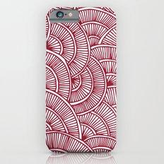 Swirls Red iPhone 6s Slim Case