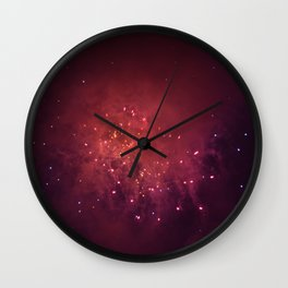 Shot in the Stars Wall Clock