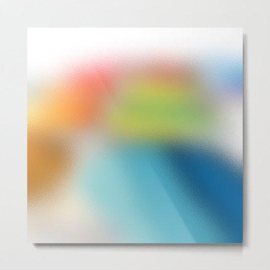 TRANSLUCENTE | multicolor Metal Print