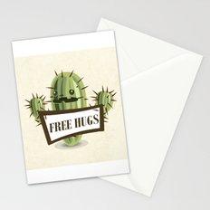Cactus Free Hugs Stationery Cards