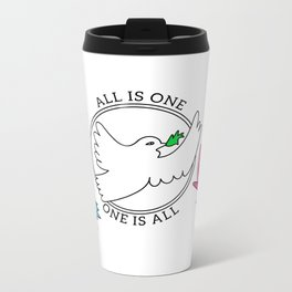 All is One, One is All Metal Travel Mug