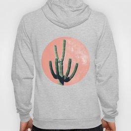 Pink Cactus Boho Mexican Hoody