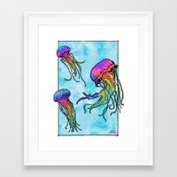 tame impala Framed Art Prints featuring Flow - Tame Impala by JT.Camargo