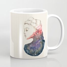Supernova Girl Watercolor Coffee Mug