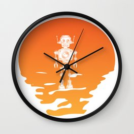 The Drowning Technology Wall Clock