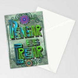 Pensar es crear 01 S6 Stationery Cards