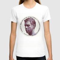 steve mcqueen T-shirts featuring Steve McQueen by RSassi