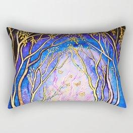 Trees - Towards the Light Rectangular Pillow