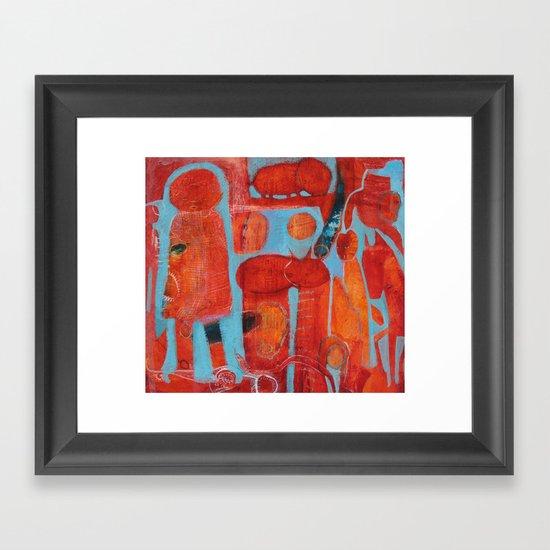 Mini Mystery Acheivement Framed Art Print