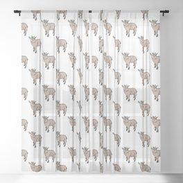 Goat Sheer Curtain