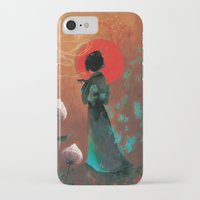 japan iPhone & iPod Cases featuring Japan by Ludovic Jacqz