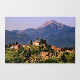 Town of Barga Canvas Print