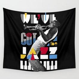 Jazz Monkey Wall Tapestry