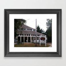 Crescent Park Carousel  Framed Art Print