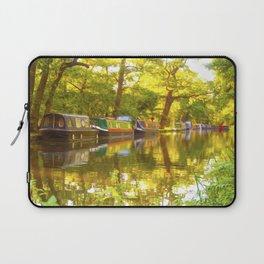 Wey Navigation Canal Laptop Sleeve