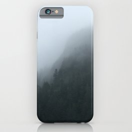 Misty Trees iPhone Case