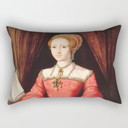 The Blood countess - Elizabeth Bathory Rectangular Pillow