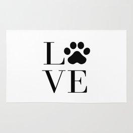 Love animals Rug