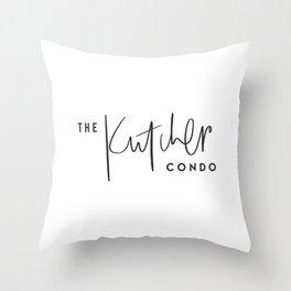 The Kutcher Condo Pillow Throw Pillow