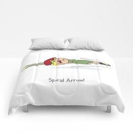 Spiral Arrow Comforters