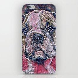 GlitzyAnimal_Dog_007_by_JAMColors iPhone Skin