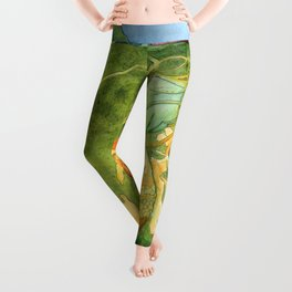 Treasures of the Lotus Nymph Leggings