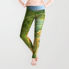 Treasures of the Lotus Nymph Leggings