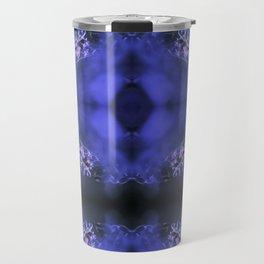 RED SPANGLES no3C-Blue Travel Mug