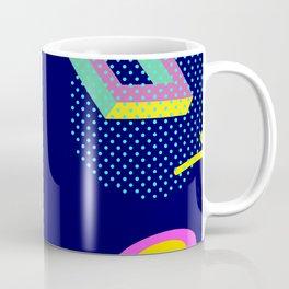 Retro Geometric Shapes Coffee Mug