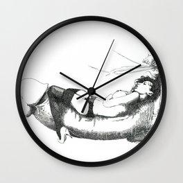 NUDEGRAFIA - 36 La Siesta Wall Clock