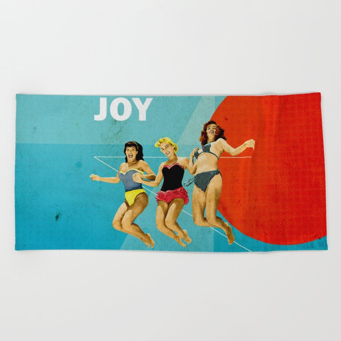 Joy Beach Towel