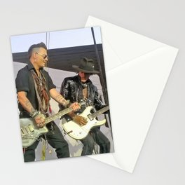Johnny Depp Joe Perry Hollywood Vampires Stationery Cards