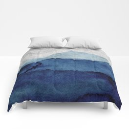 Water color landscape  Comforters