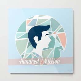 Hundred/Million Metal Print