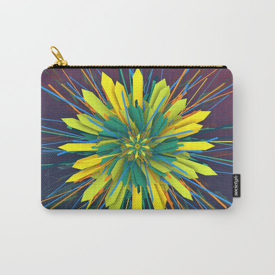 SunZun Flower Carry-All Pouch