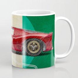 Monza Racetrack Vintage Coffee Mug