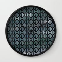 scales Wall Clocks featuring Scales by Xaphedo