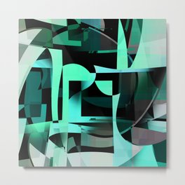 the excess. mint Metal Print
