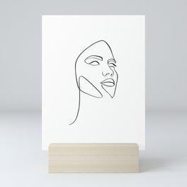 Portrait of a girl Mini Art Print