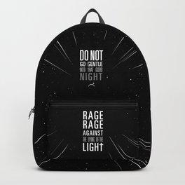 do not go gentle Backpack